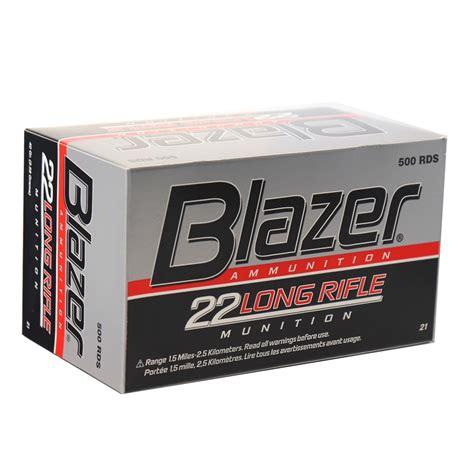 Blazer 22 Long Rifle Ammo 50 Rounds