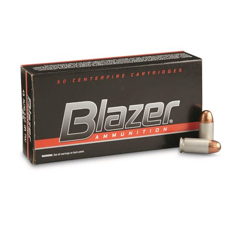Blazer 45 Cal Ammo