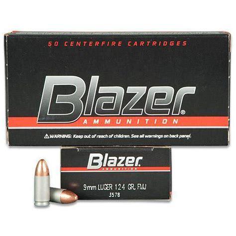 Blazer 9mm Aluminium Cas Ammo