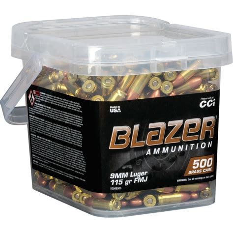 Blazer 9mm Luger Ammo Review