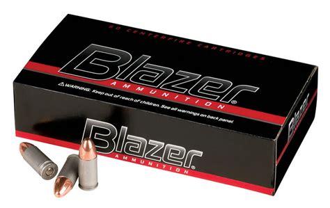 Blazer Aluminum 9mm Ammo