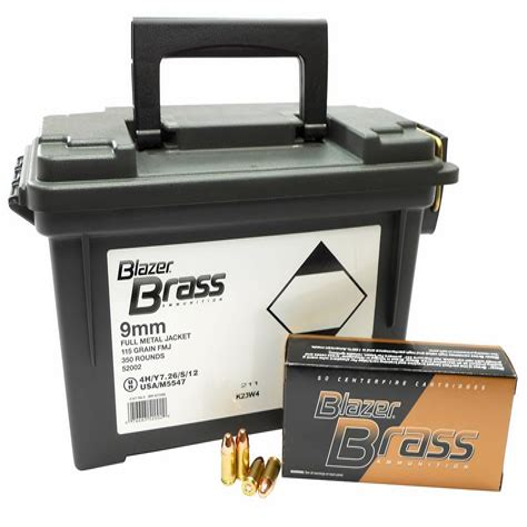 Blazer Brass Ammo Can