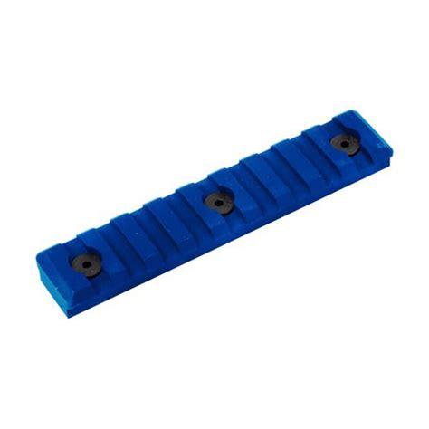 Blue Picatinny Rail