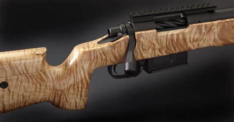 Blue Wood Rifle Stock