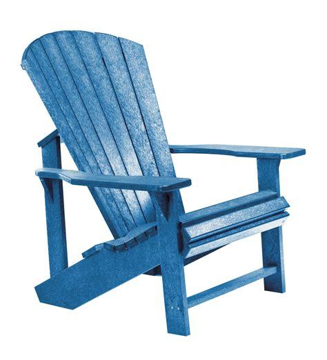 Blue adirondack chairs Image