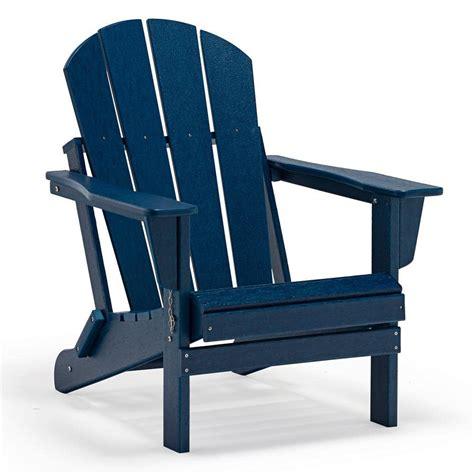 Blue adirondack chairs home depot Image