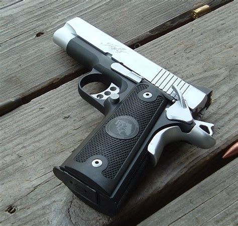 Blued 1911 With Stainless Parts