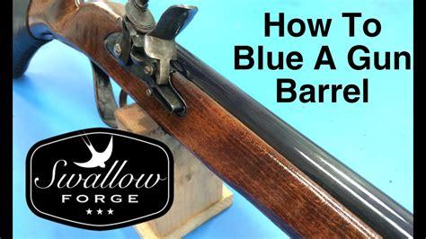 Bluing Rifle Barrel Home
