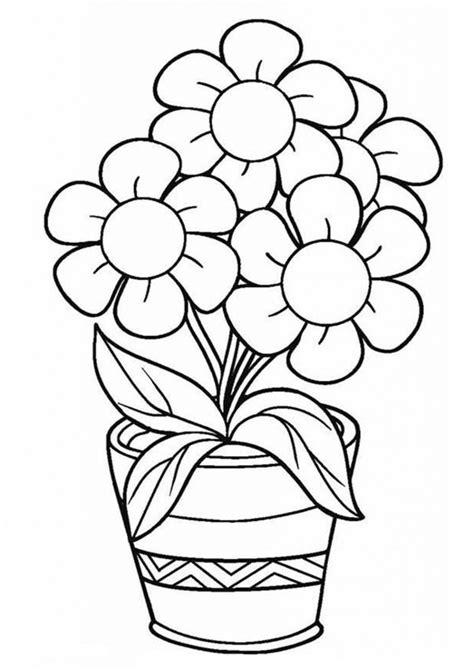Blumen Ausmalbilder Für Kinder