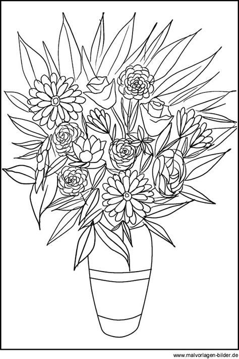 Blumen Malvorlagen Kostenlos Zum Ausdrucken Chip