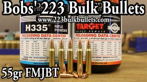 Bobs 223 Bulk Bullets - VihtaVuori N133 And N135