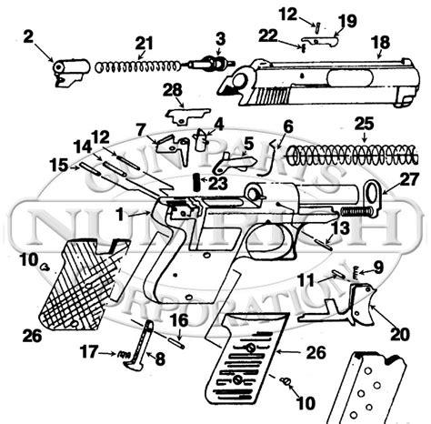 Bodyguard 380 Exploded Diagram