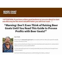 Boer goat profits guide power pack bonus