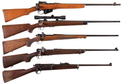 Bolt Action Rifle Using