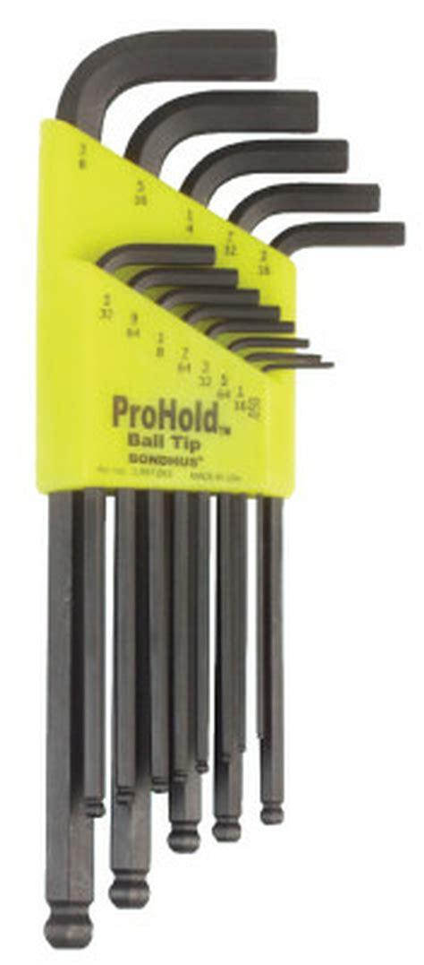 Bondhus Balldriver Hex Key Sets L-Wrench Sets