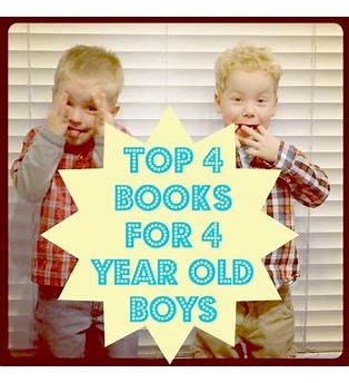Books For 4 Year Old Boy