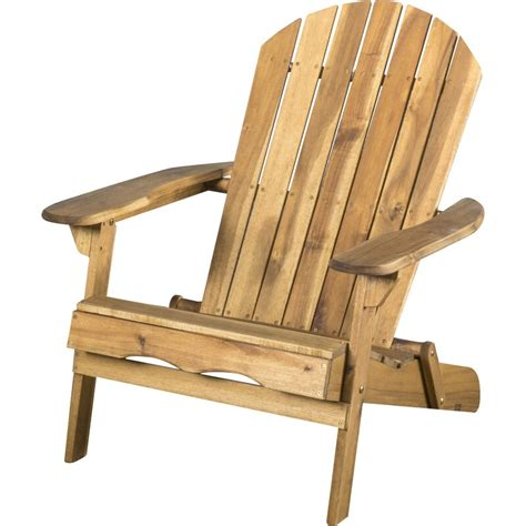 Boone Solid Wood Folding Adirondack Chair (Set of 2)