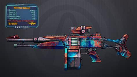 Borderlands 2 Legendary Bandit Assault Rifle