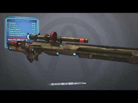 Borderlands 2 Rubi Or Mordecai Sniper Rifle