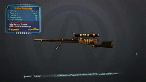 Borderlands Orange Sniper Rifle