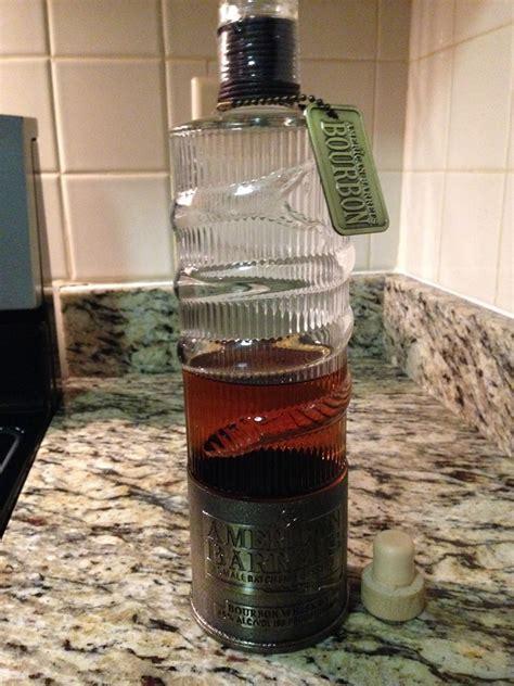 Bourbon Shotgun Shell Bottle