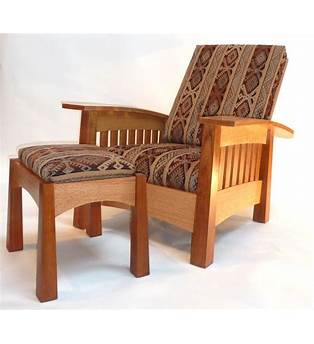 Bow Arm Morris Chair Woodworking Plan