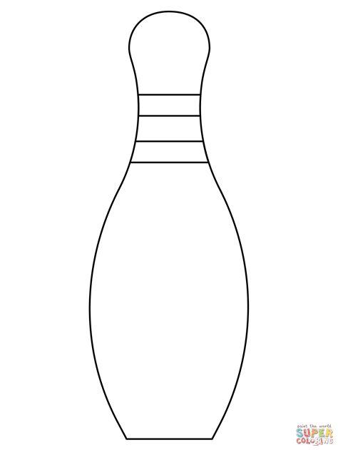 Bowling Kegel Malvorlage