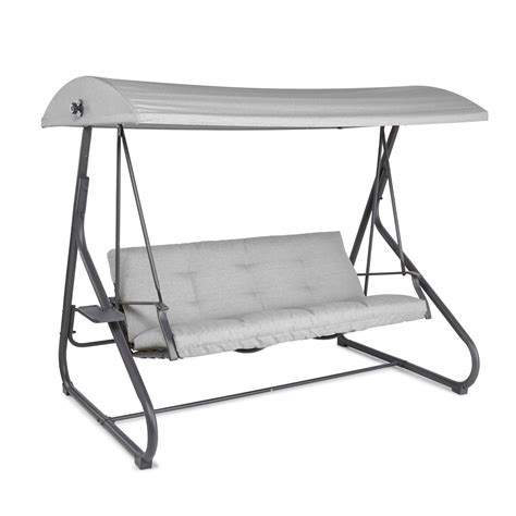 Bq wooden swing bench Image