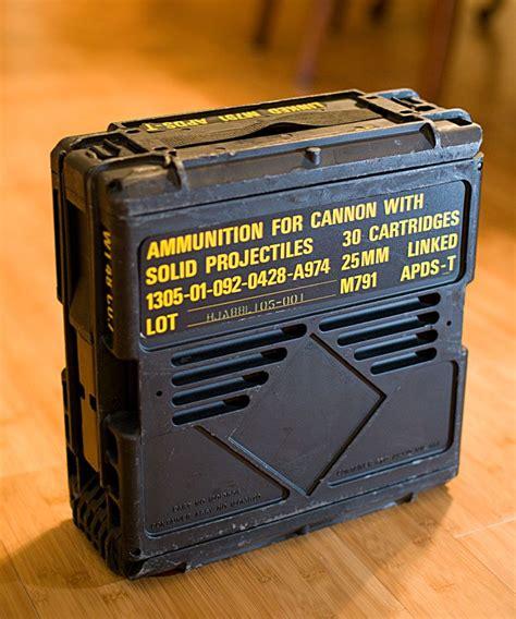 Bradley 25mm Ammo Box