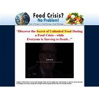 Buying brand new food crisis survival 12% insane conversion
