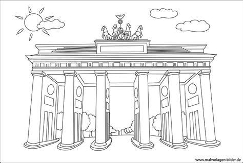 Brandenburger Tor Malvorlage