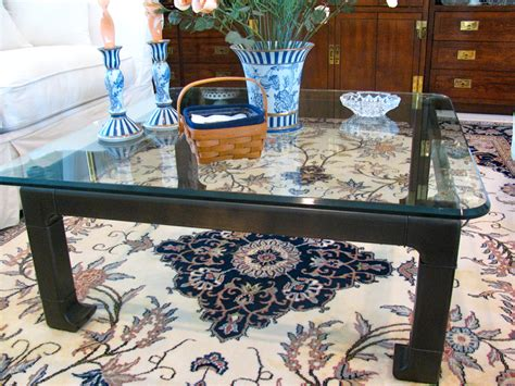 Brass Coffee Table Makeover Image