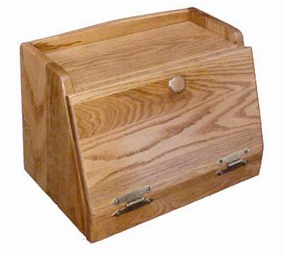 Bread box woodworking plans Image