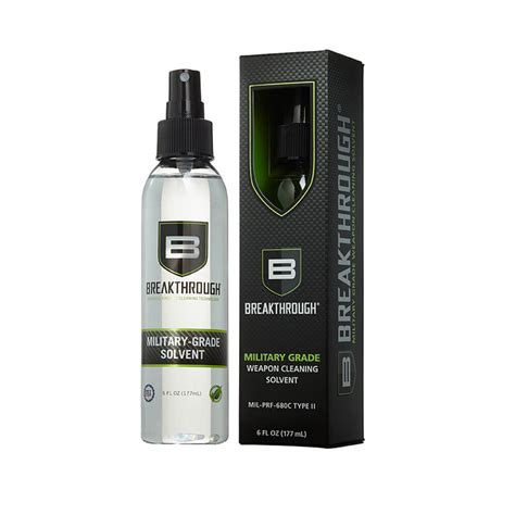 Breakthrough Clean Military Grade Solvent Military Grade Solvent6oz