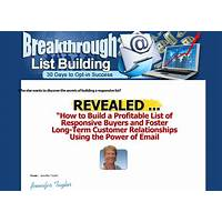 Discount breakthrough list building