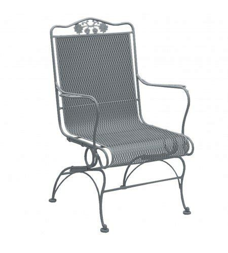 Briarwood Coil Spring High Back Patio Chair