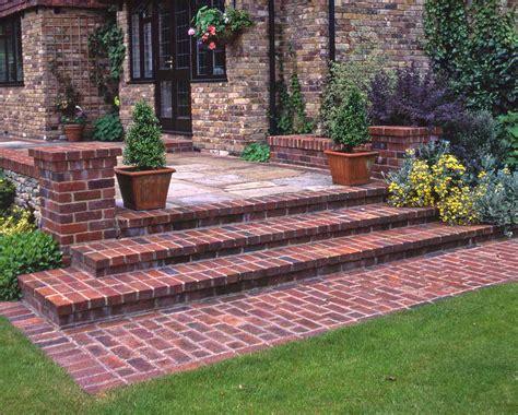 Brick Stairs Design