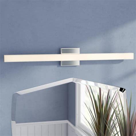 Briley Rectangular White 1-Light LED Bath Bar