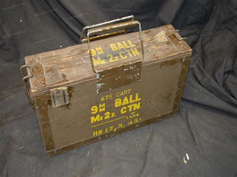 British Ammo Box