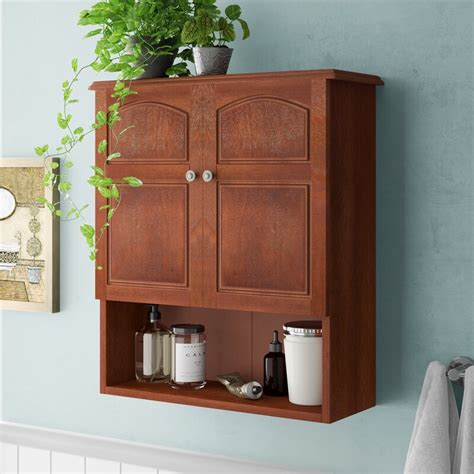 "Brogden 22.25"" W x 25"" H Wall Mounted Cabinet"