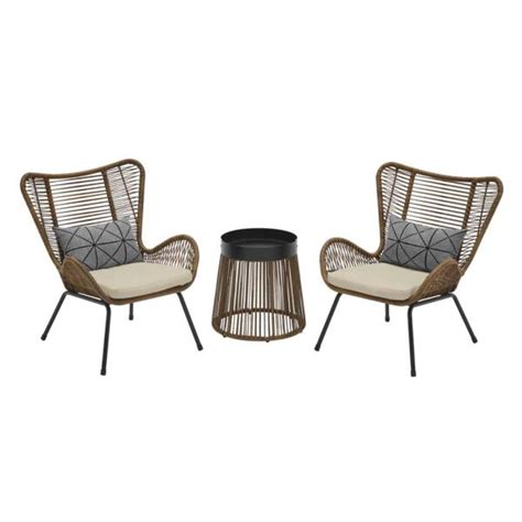 Brook 3 Piece Set with Cushions