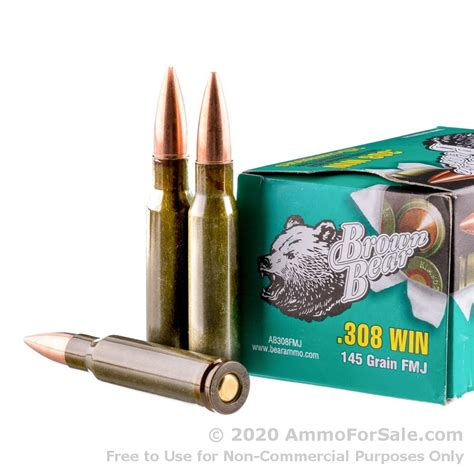 Brown Bear 308 Ammo For Sale