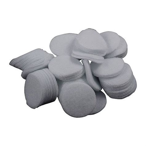 Brownells 100%25 Cotton Flannel Bulk Cleaning Patches 17 Caliber (7 8