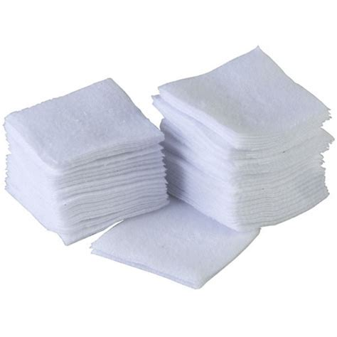Brownells 100 Paks 100%25 Cotton Flannel Cleaning Patches 7 8