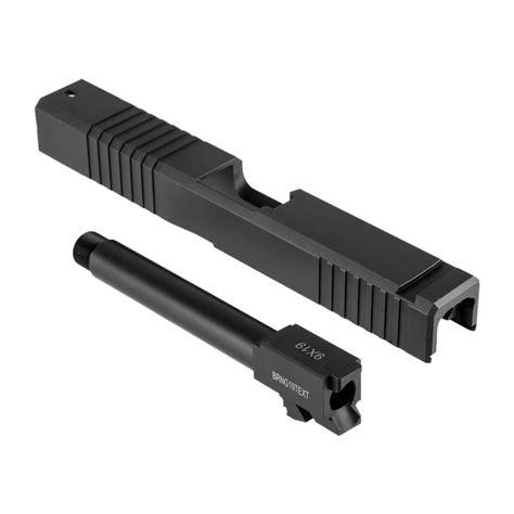 Brownells 19ls Slide Barrel Kit For Glock 19ls Iron Sight Slide Barrel Kit Std