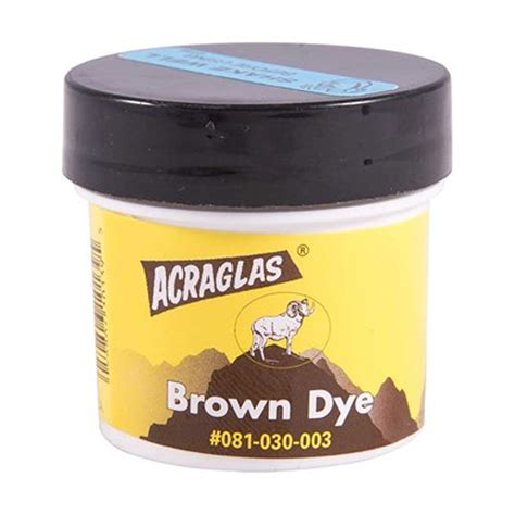 Brownells Acraglas Dyes Acraglas Dye Trypak
