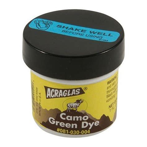 Brownells Acraglas Dyes Acraglas Green