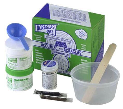Brownells Acraglas Gel 4 Oz Acraglas Gel
