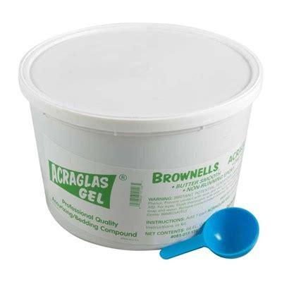 Brownells Acraglas Gel 64 Oz Acraglas Hardener