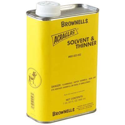 Brownells Acraglas Solvent Thinner Acraglas Solvent